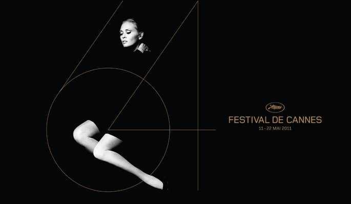 AFFICHE DU 64e FESTIVAL DE CANNES: FAYE DUNAWAY