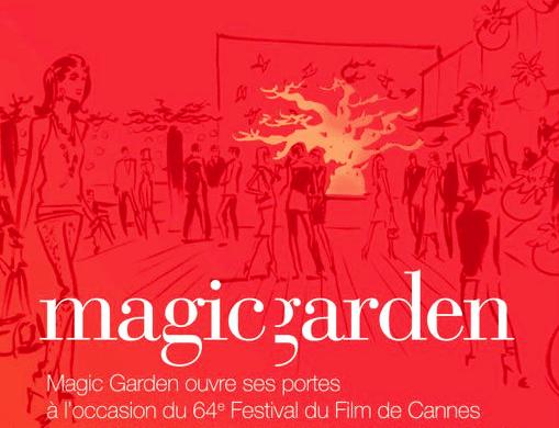 CANNES FESTIVAL By Night : Le Club MAGIC GARDEN au Palais et sur la TERRAZZA MARTINI