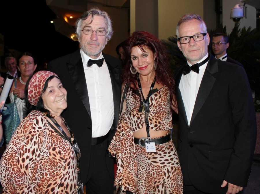 De Niro femmes Pantheres Cannes
