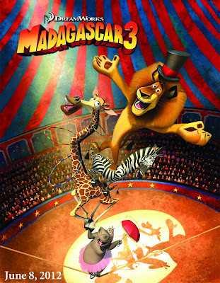 MADAGASCAR 3 en Première mondiale au 65e Festival de Cannes