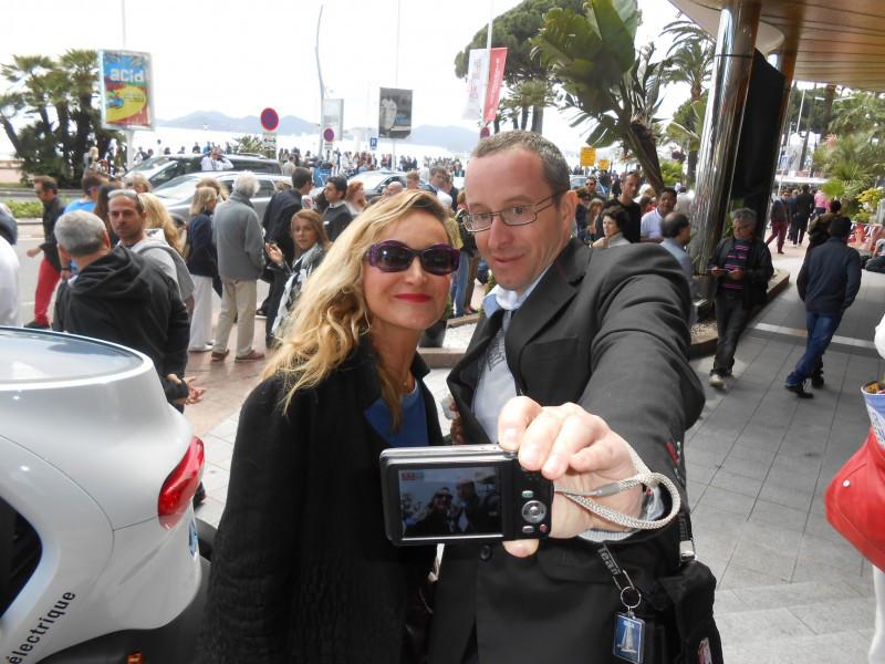 Julie Ferrier fait son cinéma à Cannes