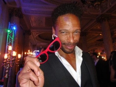 Gary Dourdan - Les Experts- Oko Eyewear - The Heart Fund, Carlton Cannes