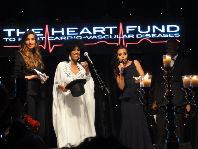 HEART FUND CANNES Charity business for children with Gary Dourdan & Jimmy Jean-Louis