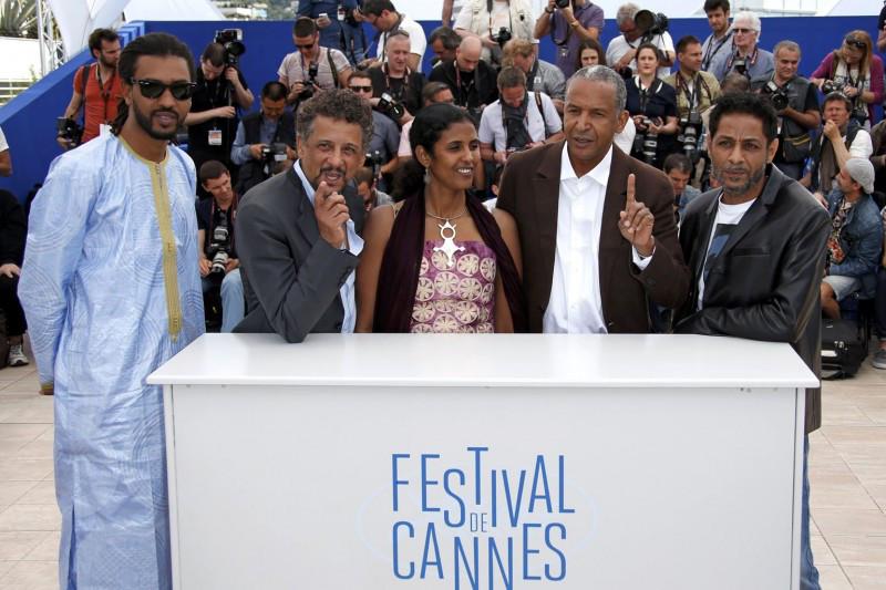 """""""Timbuktu"""" de Abderrahmane Sissako Avec Ibrahim Ahmed, dit Pino, Toulou Kiki et Abel Jafri En compétition, Festival de cannes 2014"""