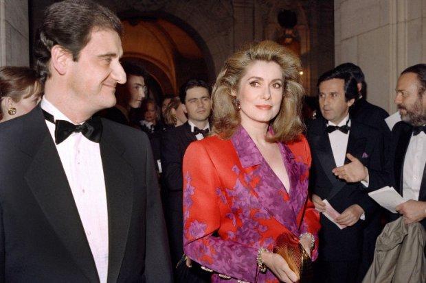 Pierre Lescure and Catherine Deneuve - 68e Festival de Cannes : Pierre Lescure Nouveau Président ( A new President in 2015)