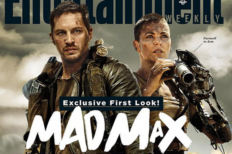 """Tom Hardy and Charlize Theron : """"Mad Max Fury road"""""""