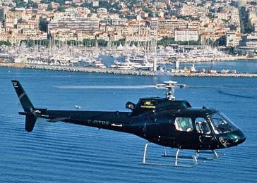 Festival 2015: UBER service d'hélicoptère Nice-Cannes