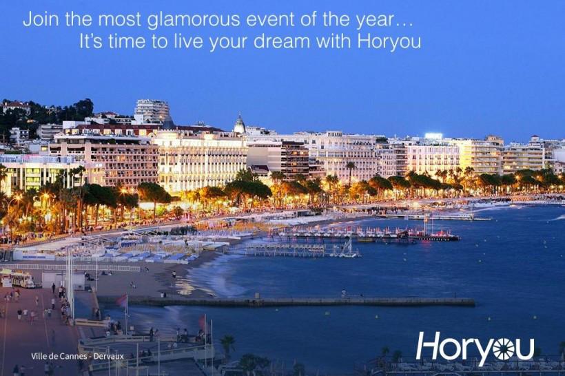Festival de Cannes: Le village Horyou s'installe au Grand-Hôtel