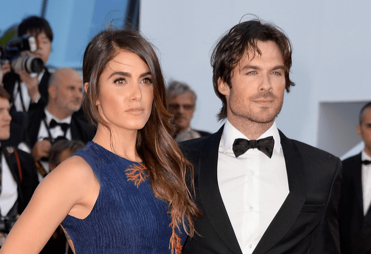 Cannes 2015 Ian Somerhalder et Nikki Reed on the red carpet