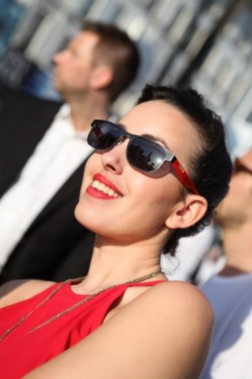 La chanteuse Maude au Festival de Cannes (1)