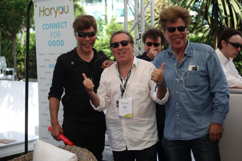 Les frères Bogdanof  Big Bang à Cannes !