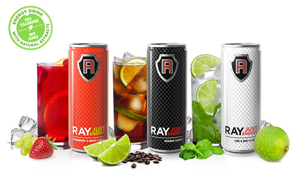Ray Just energy Ray Just energy boisson énergisante naturelle, Cannes 2015