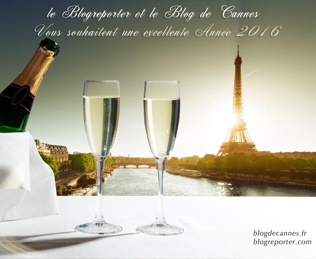 Le Festival de Cannes (11-22mai) Les Blogreporters et Di Caprio (Oscar 2016) vous souhaitent  a very good Year 2016