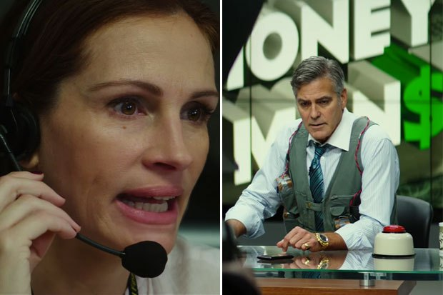 Julia Roberts & George Clooney MONEY MONSTER de Jodie Foster