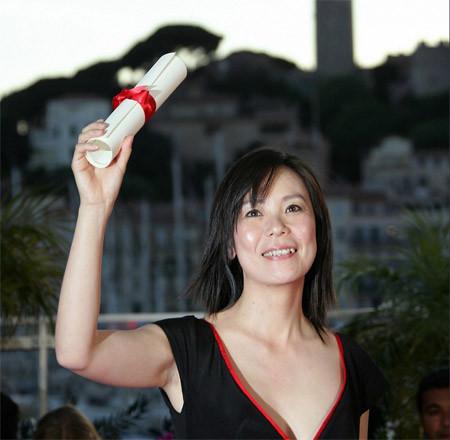 Naomi Kawase (Japan) Présidente Zen de la Cinéfondation et des courts-métrages 2016