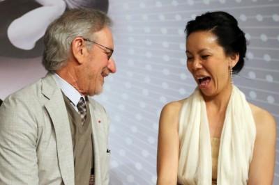 Steven Spielberg ans Naomi Kawasa, Jury 2013