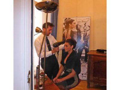 Eros Giuliani Stars hair dresser