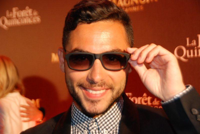 Alban Bartoli singer, Cannes 2016