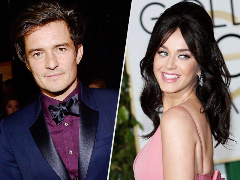 Katy Perry and Orlando Bloom, Gala de l'amfAR