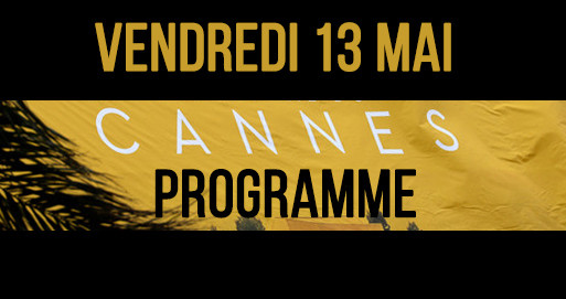 Programme cannes 2016