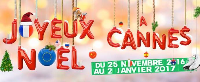 Programme des fêtes de Noël 2016 à Cannes