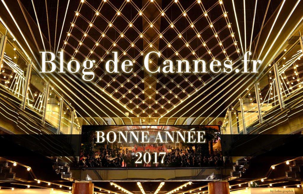 Le Blog de Cannes vous présente ses vœux festifs pour 2017
