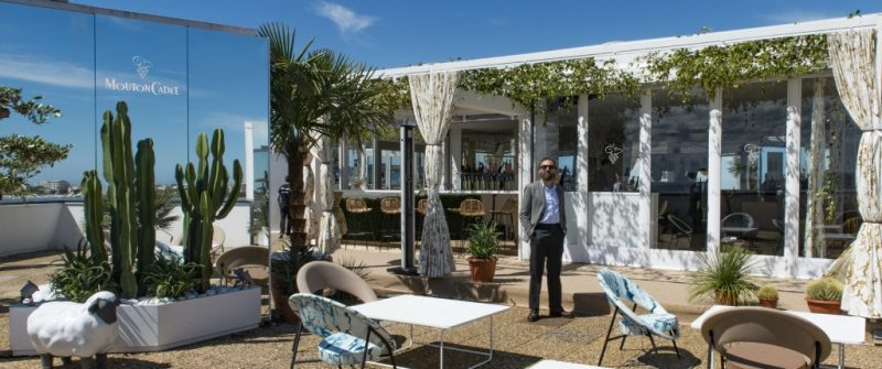 MOUTON CADET WINE BAR CANNES 2017 CLAP D'OUVERTURE : 70e FESTIVAL DE CANNES (17-28 mai 2017)