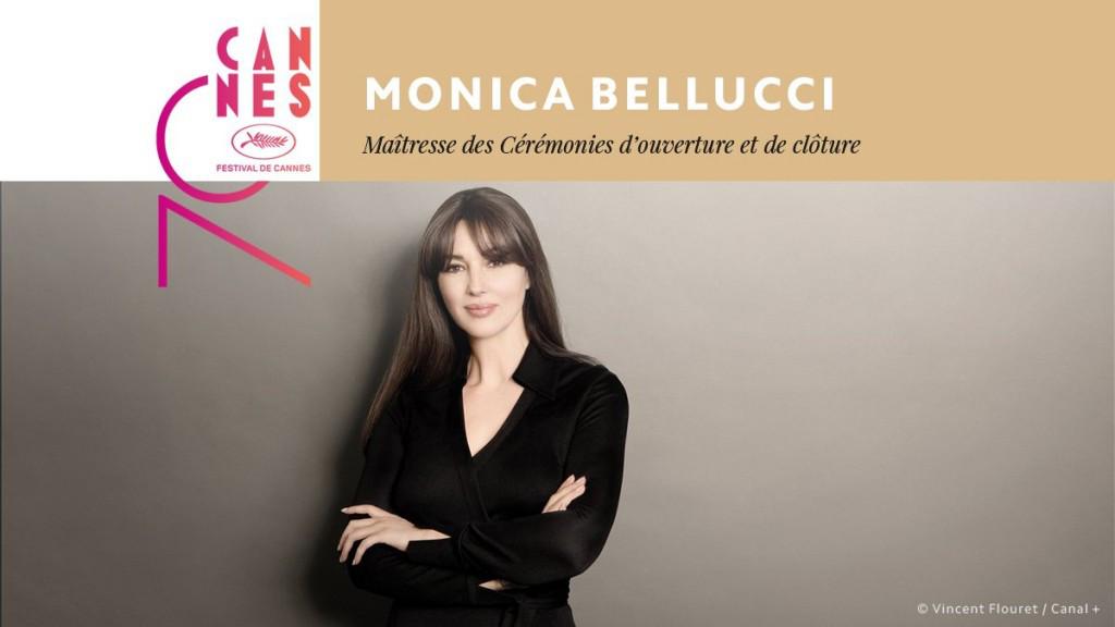 Monica Belluci Maitresse de Cérémonie du Festival L'ouverture du Festival sera en présence de l'actrice italienne qui sera aux commandes des cérémonies d'ouverture et de clôture, les 17 et 28 mai prochains.