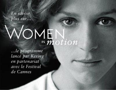 Le Groupe Kering présente la 3e édition de Women in Motion