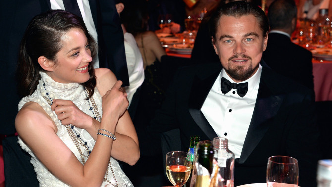 Gala Amfar Leonardo Dicaprio - Marion Cotillard - blog de Cannes 2017