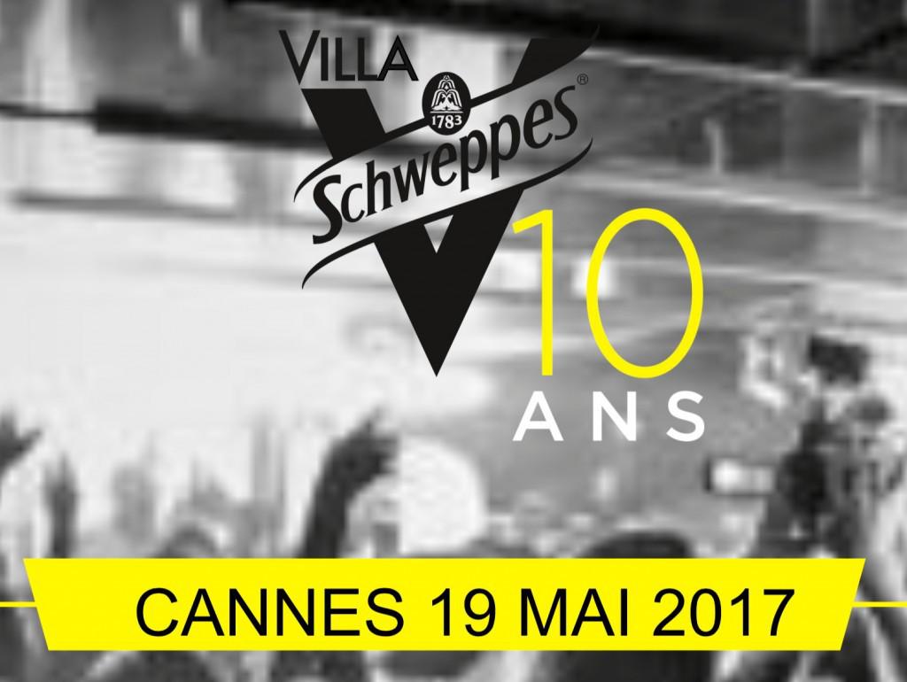 Villa Schweppes programme du 19 mai 2017