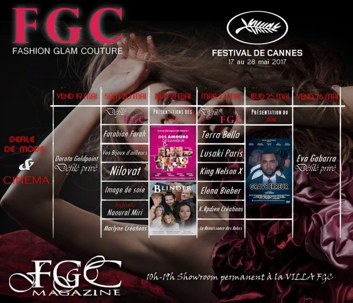 La Fashion Week du Festival de Cannes