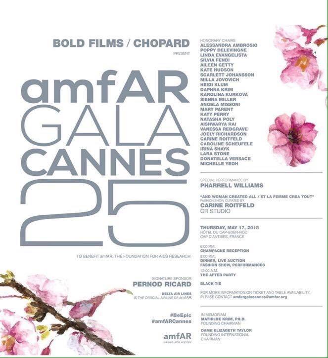 Soirées du Festival de Cannes 2018 Programme