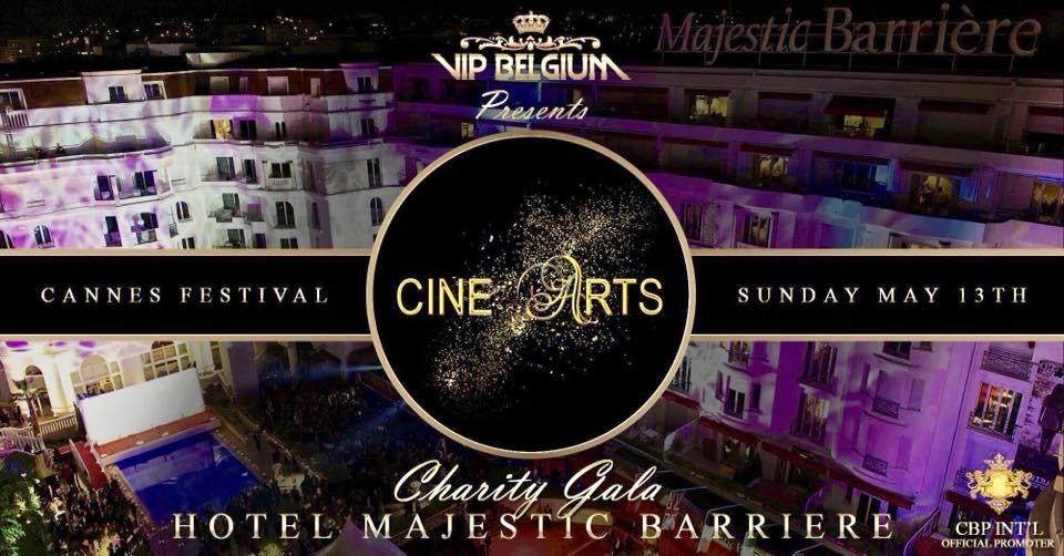 Festival de Cannes 2018 Gala Ciné-Arts au Majestic-Barrière