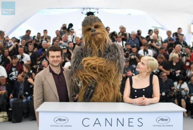 Star Wars Solo décolle avec Thomas Pasquet à Cannes !