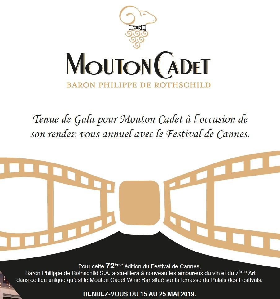 CANNES 2019 : Terrasse Mouton Cadet Wine Bar, Apéritifs Sunset Live : Hollysiz, Barbara Carlotti (Cannes), Andy Je t'aime…