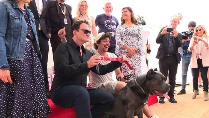 Palm dog pour Tarantino au Festival de Cannes !