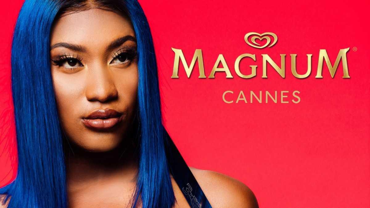 """Magnum à Cannes avec Aya Nakamura """"Djadja""""en concert exclusif !"""