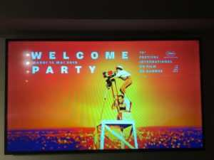 WELCOM PARTY 14 MAI CANNES FILM FESTIVAL 2019