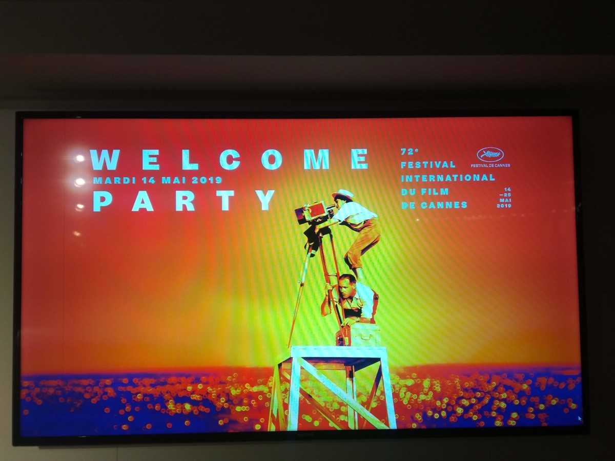 WELCOME PARTY 14 MAI CANNES FILM FESTIVAL 2019