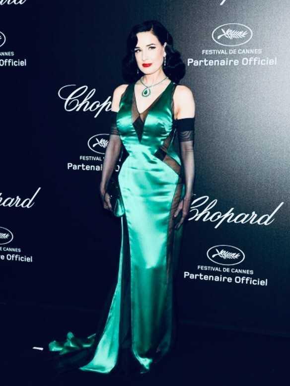 Soirée Chopard avec Mariah Carey à La Palestre
