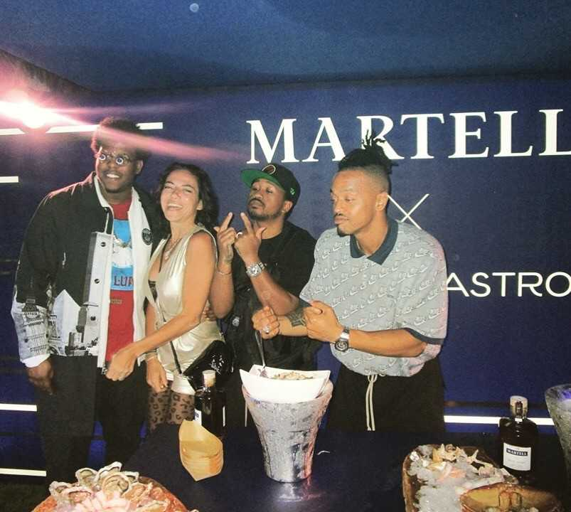 Soirée «Ghetto Gastro» by Martell, Suite Sandra and Co