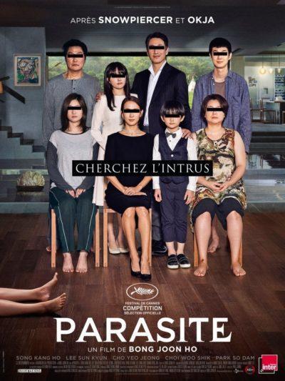 Affiche Prix Palme de Cannes film Festival 2019 festival de Cannes : PARASITE