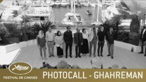 GHAHREMAN – PHOTOCALL – CANNES 2021 – VF