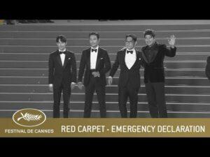 EMERGENCY DECLARATION – RED CARPET – CANNES 2021 – EV
