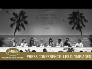 LES OLYMPIADES PRESS CONFERENCE – CANNES 2021 – EV