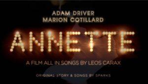 Annette – affiche du film -cannes2021