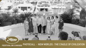 NEW WORLDS : THE CRADLE OF A CIVILZATION – PHOTOCALL – CANNES 2021 – EV